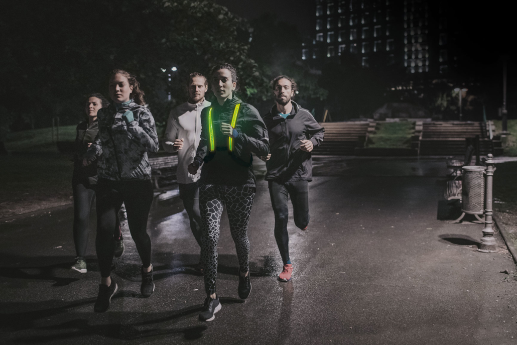 StreetGlow LED Vest Running